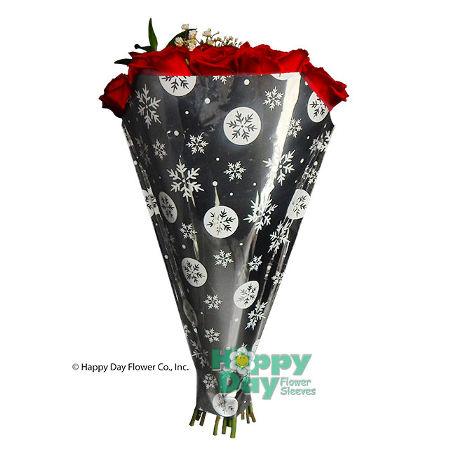 9947-Silver Snow with Flowers
