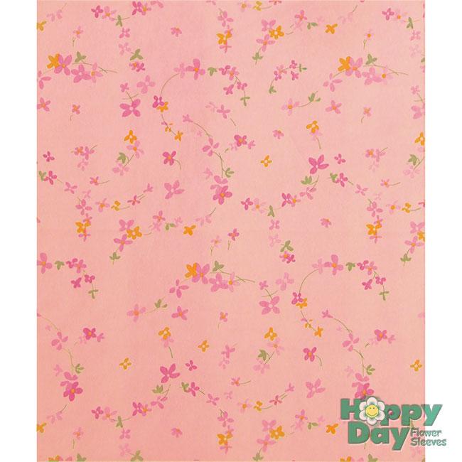 Little flowers fiber wrap sheets flowersleeves flower sleeves 6222 little flowers pinkpink 20in x 24in mightylinksfo