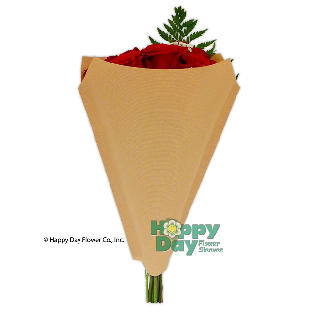 Kraft Paper Sleeves – flowersleeves com-Flower sleeves wraps