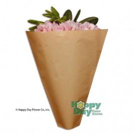 Kraft paper sleeves biodegradable recyclable flowersleeves kraft mightylinksfo