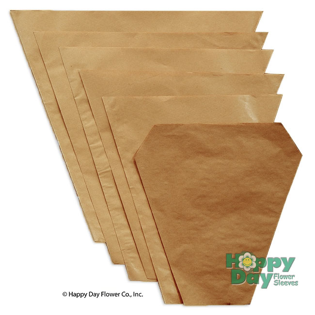 NEW Kraft Paper Sleeves in a Wide Variety of Sizes