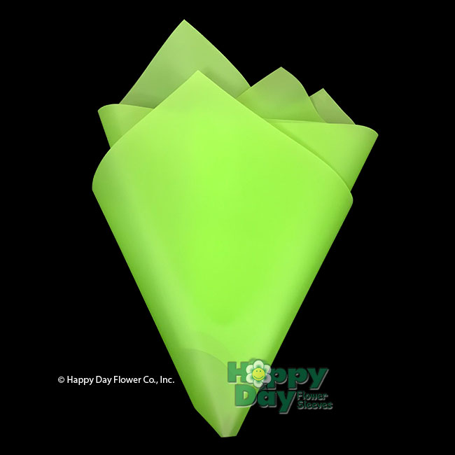 6179 6179nh Frosted Bright Green Plastic Sheet