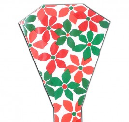 Bb Flowers Red Green 13in