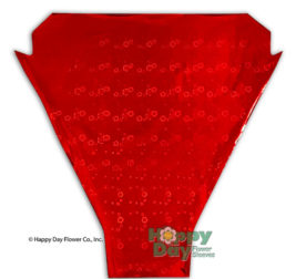 Flor Isma Red 13in 17in